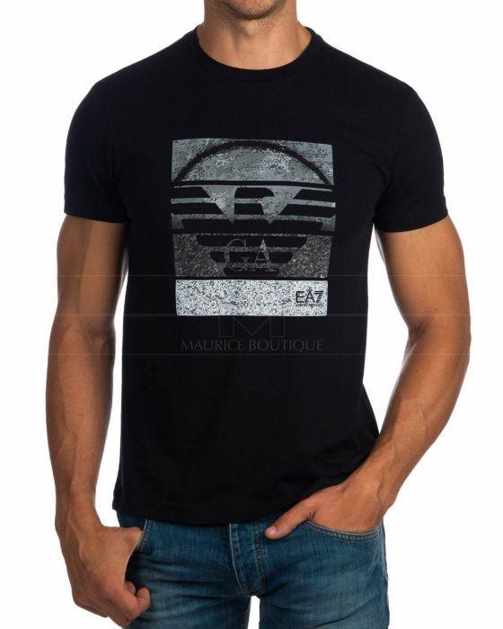 2c8efc3e4 EA7 Emporio Armani Black Mens T Shirts - YPTD