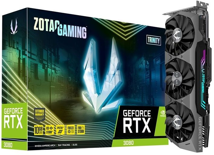 Zotac Confirms 20 000 Geforce Rtx 3080 Trinity Launch Day Orders From Just One Retailer Graphic Card Video Card Nvidia