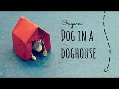 Support the origami channel for more cool creations at Patreon: www.patreon.com/tadashimori Facebook: www.facebook.com/tadashiorigami Dog in a Doghouse origa...