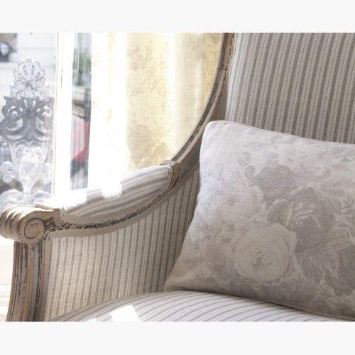 Chair Charcoal Stripe ~ Kate Forman