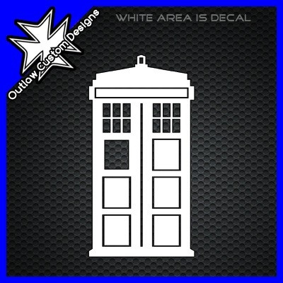 majestic dr who tardis door decal. Doctor Who  TARDIS Silhouette 15 best Car decals images on Pinterest stickers decal and