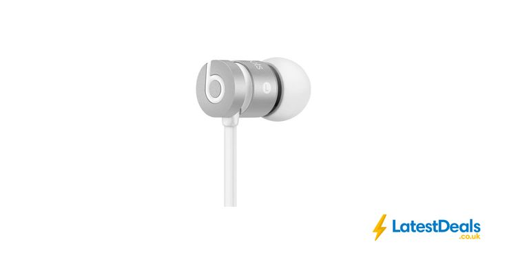 BEATS UrBeats Headphones - Silver Free Delivery, £49.95 at PC World
