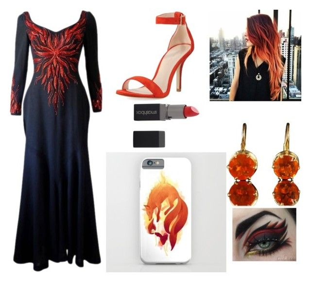 """""""Fire and ice!🔥❄️"""" by reaol on Polyvore featuring Murray Arbeid, Pelle Moda and Smashbox"""