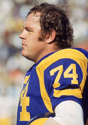 Actor Merlin Olsen Played Professional Football for the Rams