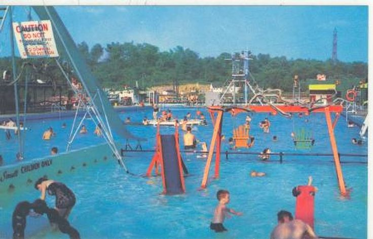 Cascade Plunge Swimming Pool At Fair Park Tenn My