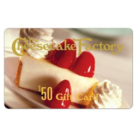 The Cheesecake Factory $50 (Email Delivery) : Target