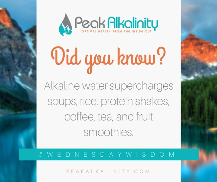 Best Peak Alkalinity Images On   Healthy Health And