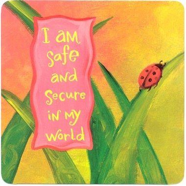 """""""Sono salva e al sicuro nel mio Mondo"""" di Louise Hay. www.puoiguarirelatuavita.it"""