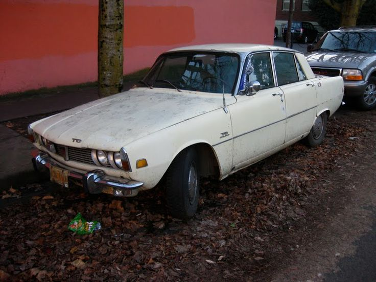 OLD PARKED CARS: Revisited: 1966 P6 Rover 2000TC.