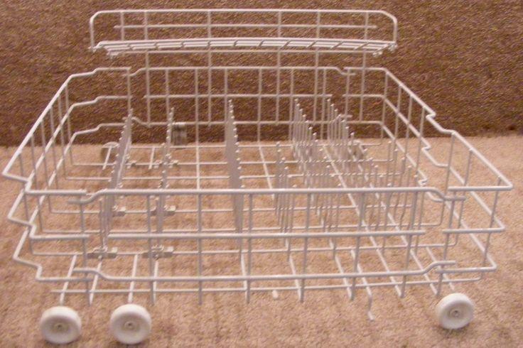 WD28x10071 WD28x10138 WD28x10148 GE Lower Light Greay Dishwasher Rack