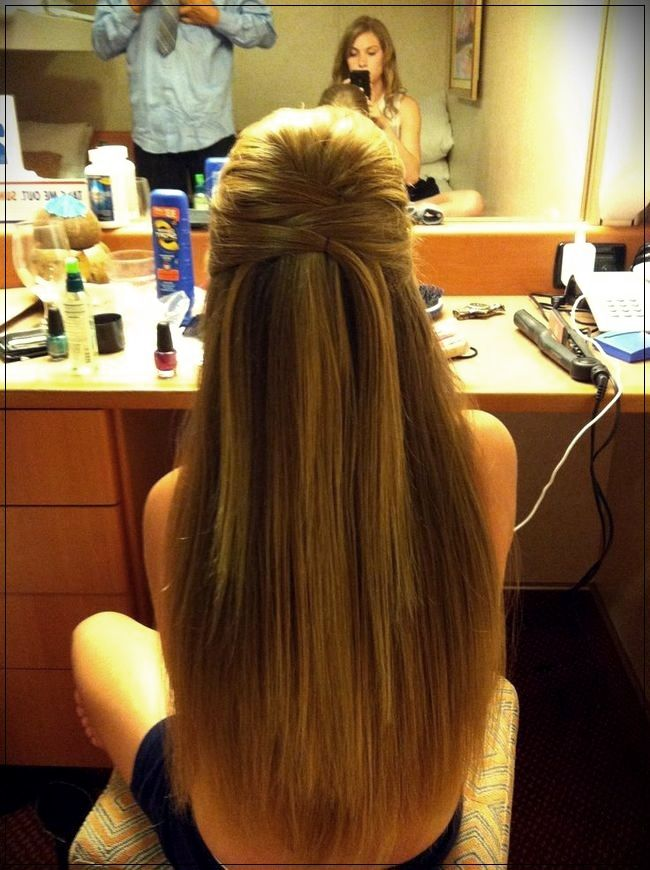 Hairstyles For Party 2019short And Curly Haircuts Straight Prom Hair Straight Hairstyles Long Hair Styles