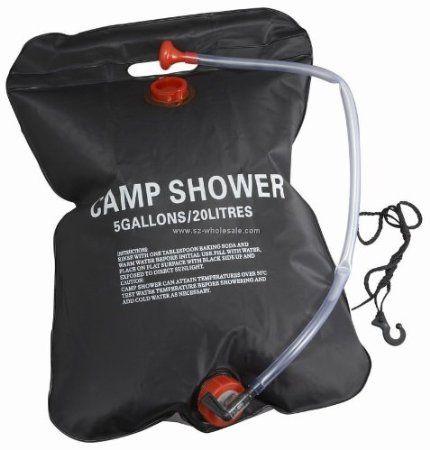 20 Litre Outdoor Portable Solar Powered Camping Shower Camp Festival Fishing Beach: Amazon.co.uk: Garden  Outdoors