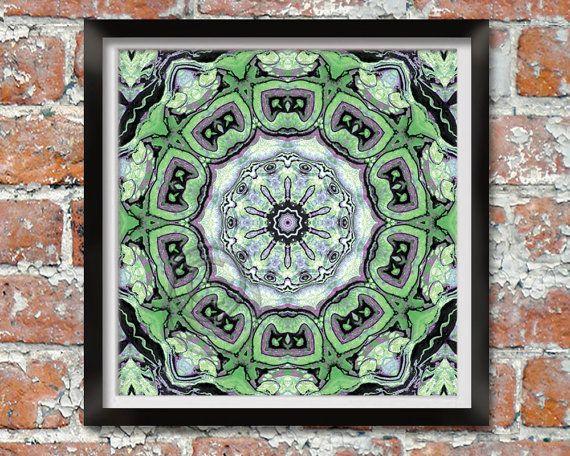Grunge Mandala | Printable | StudioArt108