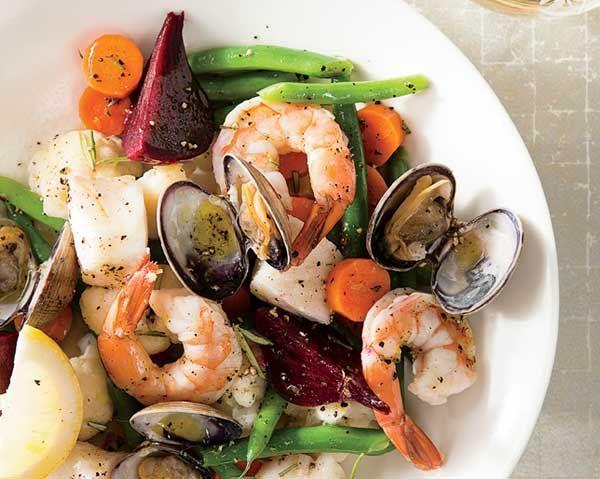 Meals That Make You Feel Amazing | Women's Health Magazine Christmas Seafood Salad