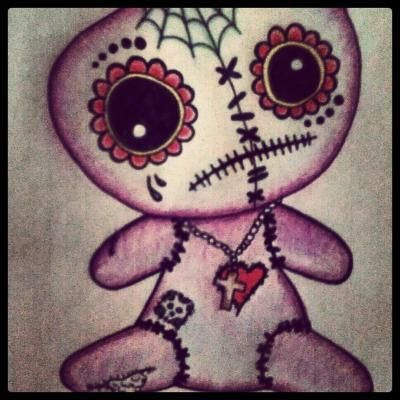 VooDoo Doll Drawing - Jayd111 © 2013 - Nov 1, 2012