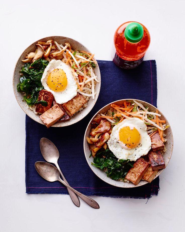 Korean Rice Bowl - BimBimBap