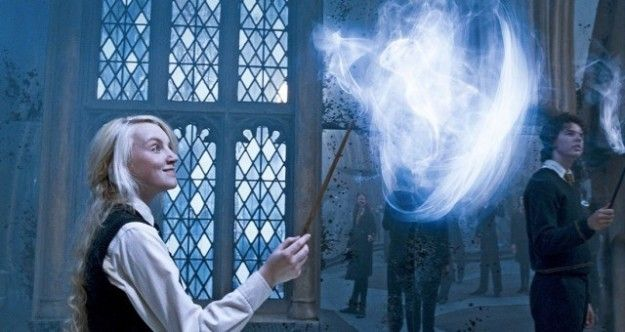Including Evanna Lynch, aka Luna Lovegood as if you didn't know. | Luna Lovegood Is Having A Meltdown Over Her Pottermore Patronus