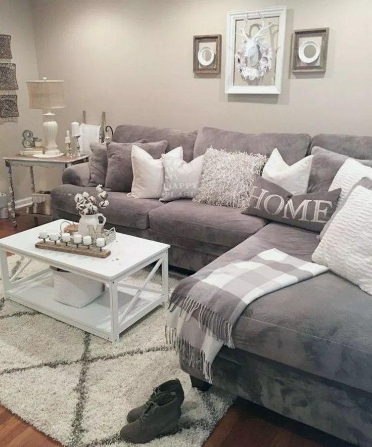 31 Incredible Farmhouse Living Room Sofa Design Ideas
