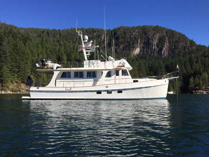 1998 Grand Banks 52 Europa for sale in Seattle, WA #BoatsForSale #GrandBanks #Trawlers