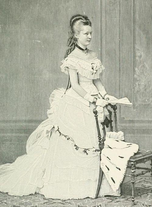 Princesse Augusta-Victoria de Schleswig-Holstein-Sonderbourg (1858-1921) épouse de l'empereur Guillaume II