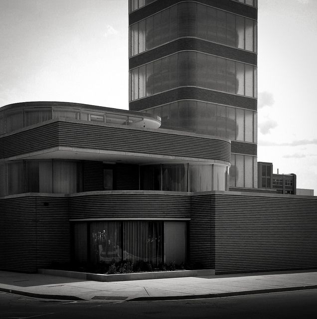 Johnson Wax Administration Building. 1936 9. Racine, Wisconsin. Frank Lloyd  Wright