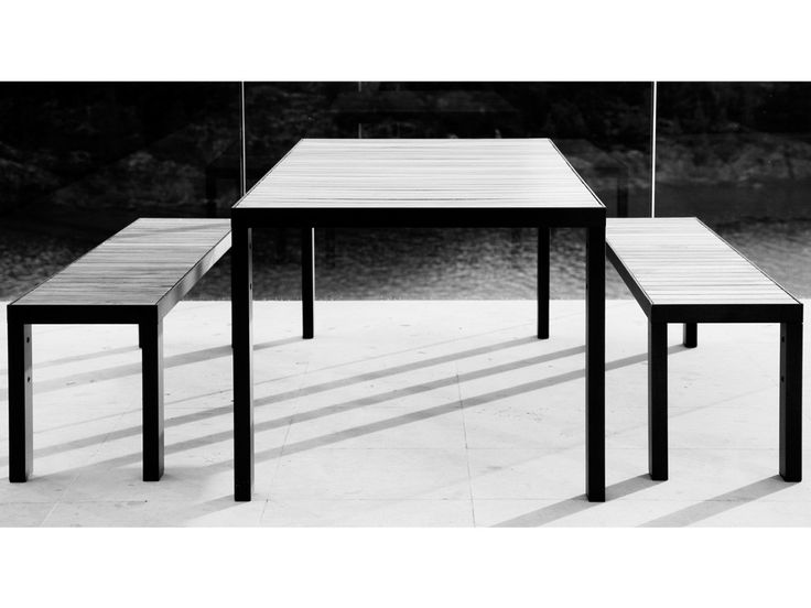 Röshults Garden Dinner Outdoor Bench By Broberg U0026 Ridderstråle   Chaplins