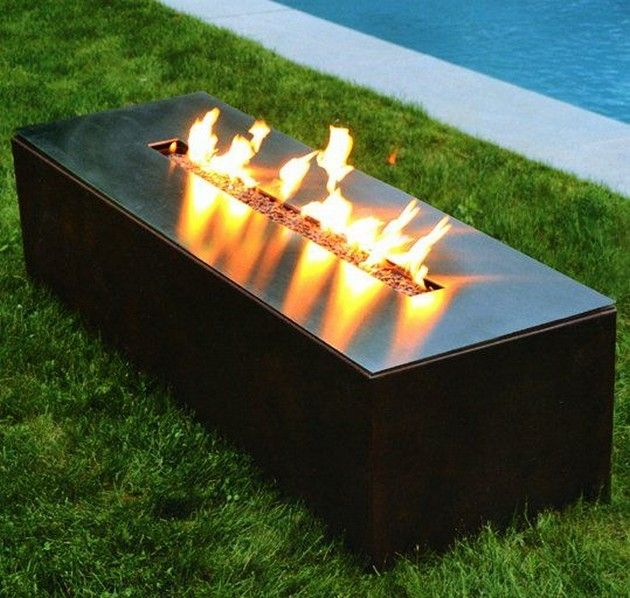 Glowing Outdoor Fireplace Ideas: Fire Images On Pinterest
