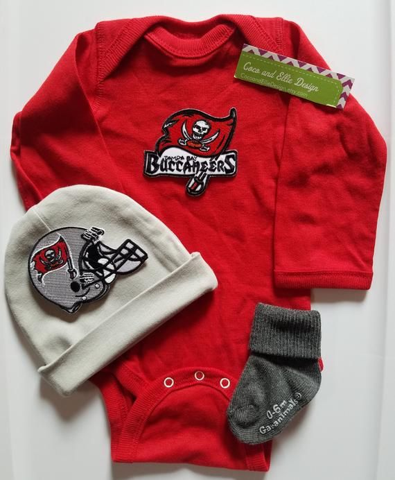 994f7a6d Tampa bay buccaneers baby outfit/Tampa bay buccaneers baby shower ...