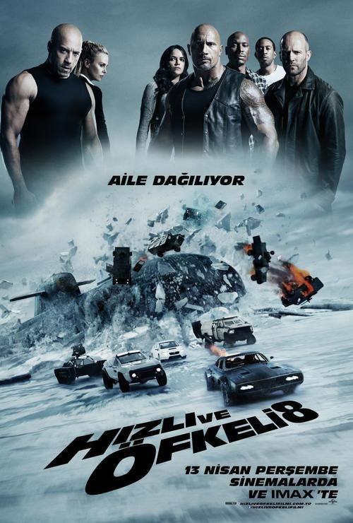 Hızlı ve Öfkeli 8 #filmi