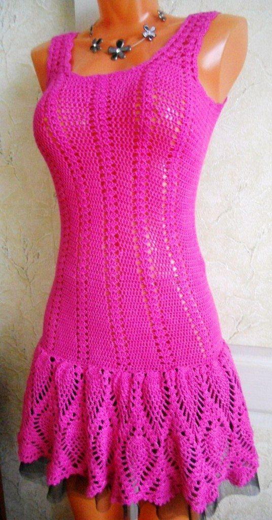 dress Handarbeiten ☼ Crafts ☼ Labores  ✿❀.•°LaVidaColorá°•.❀✿  http://la-vida-colora.joomla.com