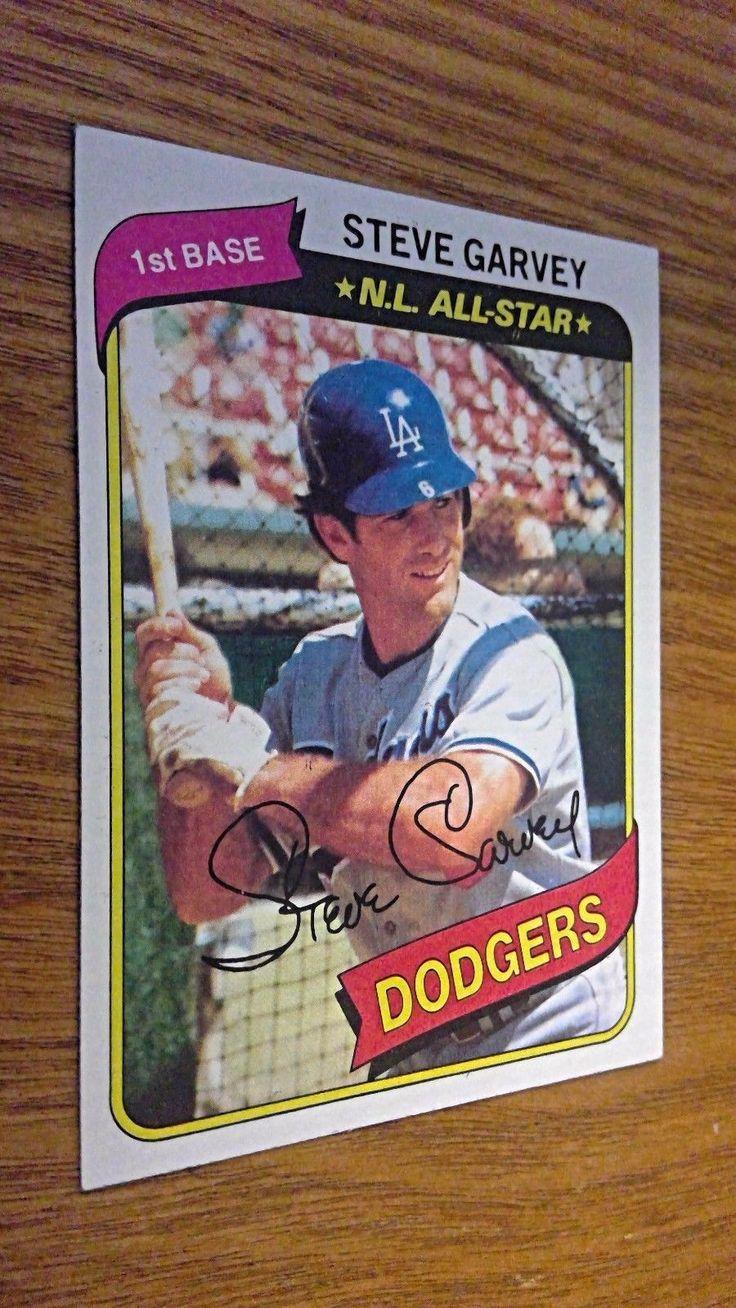 1980 Topps Dodgers First Base Steve Garvey #290 Baseball Card