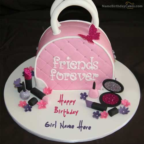 Write Name On Fashion Birthday Cake For Girls Picture Elegant Of Happy Video With Generator