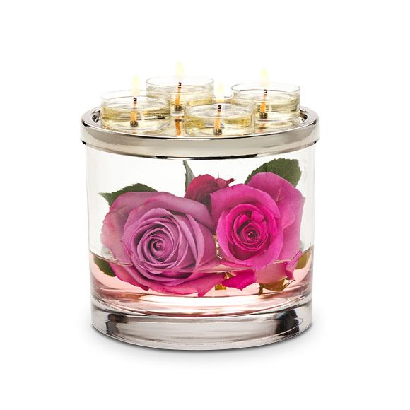 P92370 - Porte-bougies à réchaud Clearly Creative™