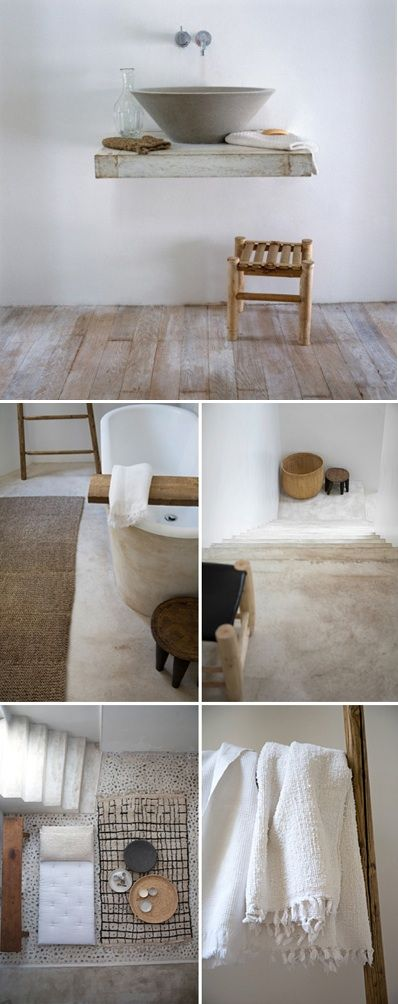 beautiful natural modern interiors make me want to curl up with a book and decorating