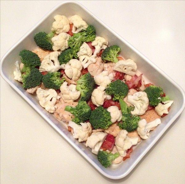 Här kommer recept på min heta kycklinggratäng. Lätt att tillaga och god bara som den är eller med en god sallad till.  3-4 stycken kycklingfileér 2 paket bacon 2 st vitlöksklyftor 1 broccoli 1…