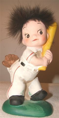 $30 NAPCOWARE-National-Pottery-Baseball-Player-and-Hair-50s