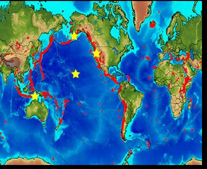 Best 25 world earthquake map ideas on pinterest quake map world map of volcanoes gumiabroncs Images