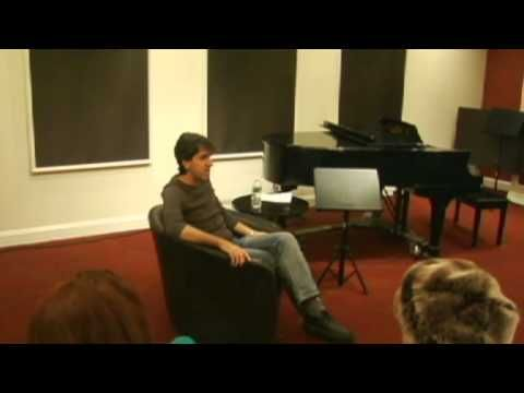 A Songwriting Master Class with Jason Robert Brown - YouTube