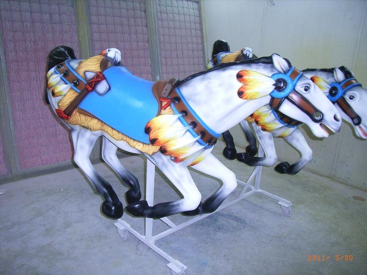 """Decorazione Kiddie Ride.  Tecnica: aerografia a """"mano libera""""  (senza mascherature)"""
