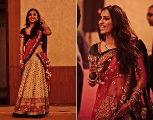 Lehenga : Indian Wedding. These are the colors I'm thinking for my dress. Done pirate of course