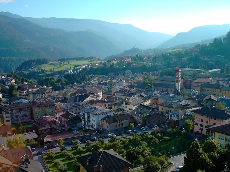 CAVALESE (TN) Panorama da Montebello - Trentino, Italy