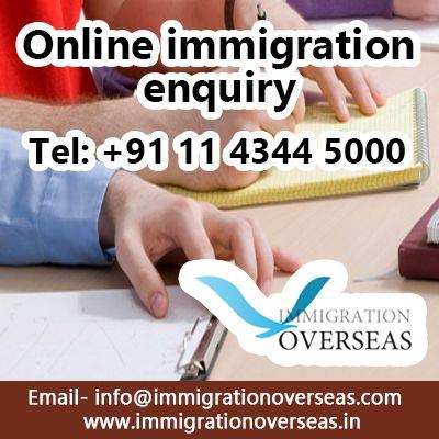 Online Immigration Enquiry