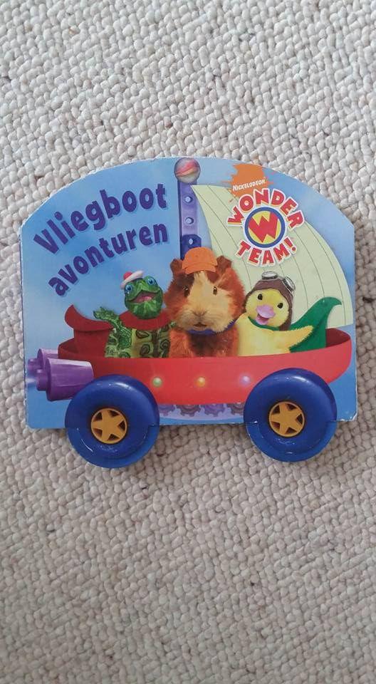 Peuterboekje - kartonnen wielen kunnen draaien - 1,50€ -