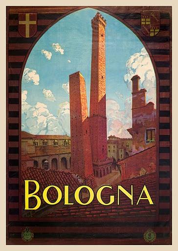 Bologna. Design by Severino Trevator, circa 1930