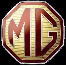 MG car company logo
