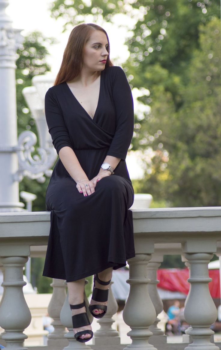 back to black - the little black dress ootd