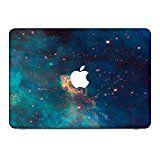 """Weltraum 10123, Sterne, Skin-Aufkleber Folie Sticker Laptop Vinyl Designfolie Decal mit Ledernachbildung Laminat und Farbig Design für Apple MacBook Pro 13"""""""