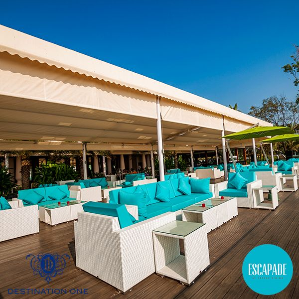 Sit long, talk much and enjoy at ‪#‎DestinationOneGoa‬