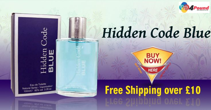 Amazing Easter Sale On #Perfumes.Buy Hidden Code Blue Perfume at Low Price