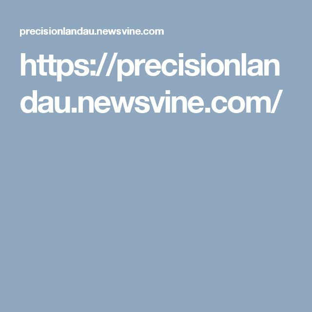https://precisionlandau.newsvine.com/